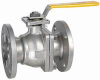 Duplex Steel Two Piece Flanged Ball Valve