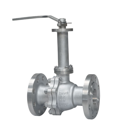 Duplex Steel Cryogenic Two Pieces Flanged Ball Valve
